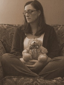 Self Portrait with my William Bear